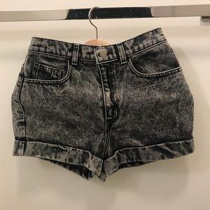 American apparel shorts